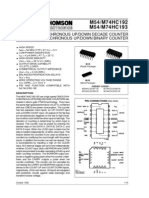 74192 - Synchronous Up:Down Binary) Counter - Stmicroelectronics