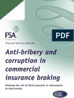 FSA Anti Bribery