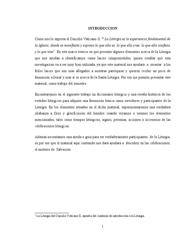 Trabajo de Introduccion A La Liturgia   PDF   Penitencia   Misa ...