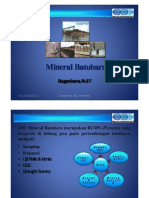 Mineral Batubara