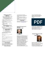 2012 PSRANM Conference Registration