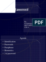 3d Password Ppt