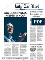 The Daily Tar Heel for March 15, 2012