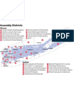 Long Island Assembly Districts
