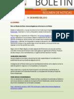 Resumen de Noticias Ambientales 14.03.2012 / RED MUQUI