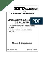 Cutmaster 81 DocLib_2748_2962-S SL60 & SL100 Torch (I) - Spanish