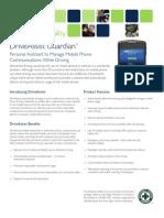 Datasheet Drive Assist Guardian 2011-07-12