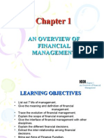 Chapter 1 Finanicial Management