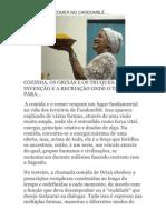 A COMIDA E O COMER NO CANDOMBLÉ