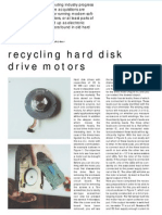 Recycling Hard Disk Drive Motors