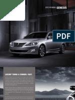 Hyundai Genesis eBrochure