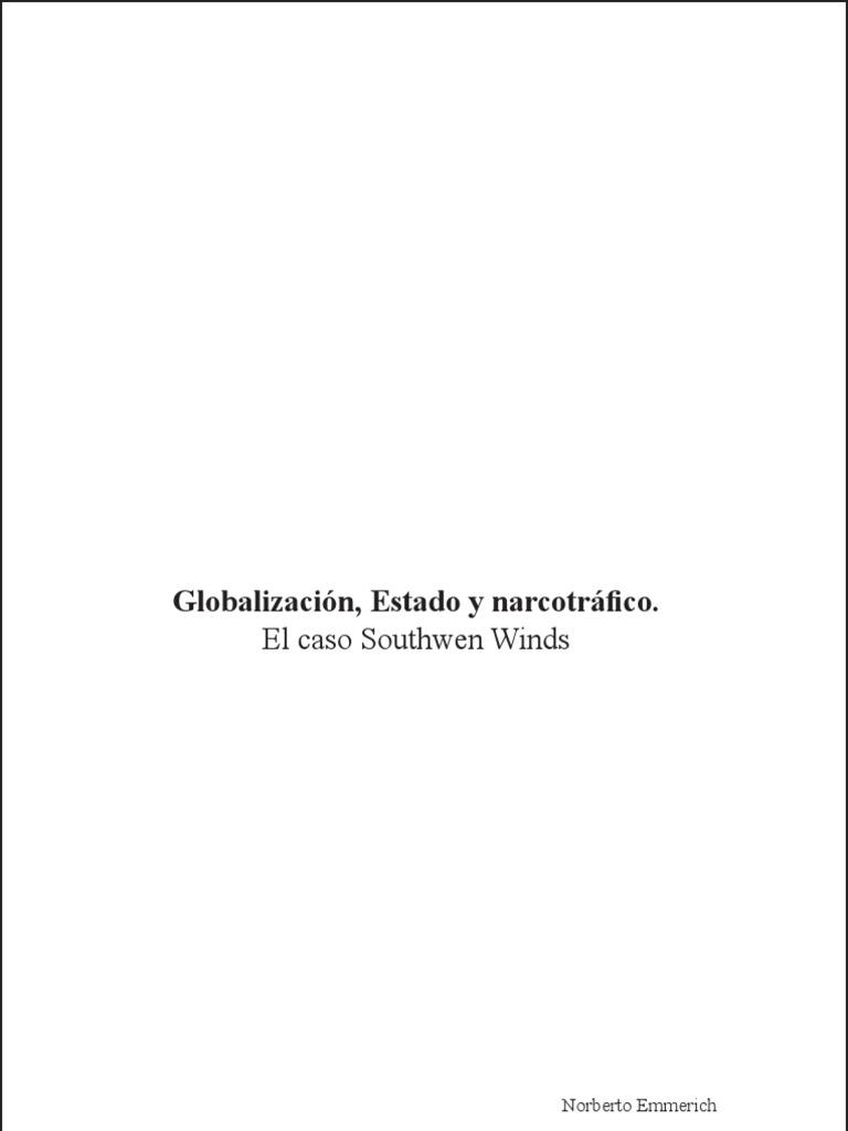 145937cb093413 Globalizacion Estado y Narcotrafico