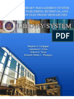 An Online Library Management System With Online Publishing, Retrieval and Searching of Electronic Researches
