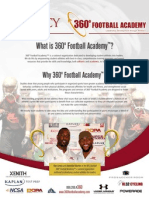 360 Football Academy Brochure
