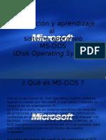Como Utlizar El MS-DOS