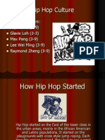 Copy of Group 6 Hip Hop Culture