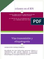 Infecciones en El RN