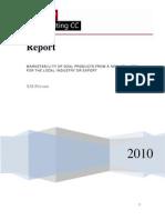 Coal Report Sample