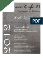 Reforma Siglo 21 Conferencia de Liderazgo
