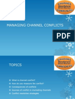 Managing Channel Conflicts