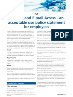 Internet and E Mail Access