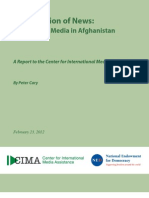 Afghanistan -The State of Media in Afghanistan