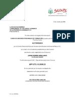 Autorizacion APF