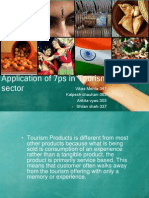 Application of 7ps in Tourism Sector