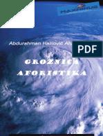 Groznica aforistika - II Satirična pozornica MaxMinus magazina 2011- Abdurahman Halilovic Ahil