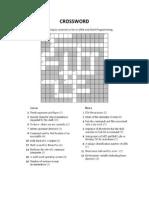 Crossword 1