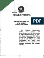 RELATÓRIO PARCIAL DA COMISSÃO TEMPORÁRIA EXTERNA DO SENADO FEDERAL SOBRE DEMARCAÇÃO DE TERRAS INDÍGENAS - SANTA CATARINA