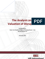 The Analysis and Valuation of Disruption - Derek Nelson