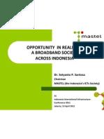 Mastel at Infrastructure Summit
