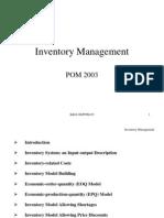 Inventory Management 1