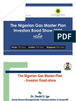 The Nigerian Gas Master Plan_as Presented by NNPC in 2008 GAS Roadshow2