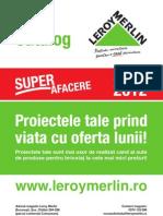 Catalog SuperAfacereLeroy Merlin Martie