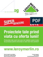 Catalog Leroy Merlin Martie