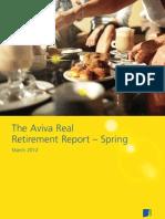 Aviva Real Retirement Report, March 2012