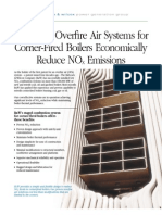 Advanced Overfire Air Systems for Corner-Fired Boilers Economically Reduce NOX Emissions