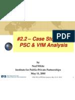 2 2 Case Studies of PSC VfM NW