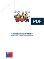encuesta Junaeb
