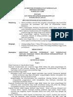 Keputusan Menteri Pendidikian Dan Kebudayaan No. 155 0 1998 Tentang Pedoman Umum Organisasi Kemahasiswaan Di Perguruan Tingg