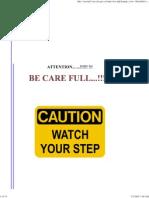 Be Care Full