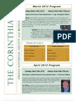 The Corinthian March-April 2012