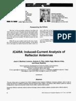 ICARA. Induced-Current Analysis of Reflector Antennas
