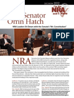 Senator Hatch and the 2nd Amendment