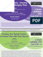 London and Watford Dental Split - Aesthetic and Growing Your Dental Practice