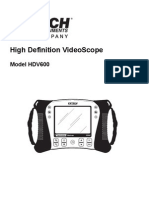 Test Equipmentshop.com Bore Scopes HDV610 HD Video Scope With 0.55cm Flexible Probe1