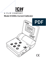 Test Equipmentshop.com Calibrators 412300A Current Calibrator Meter2