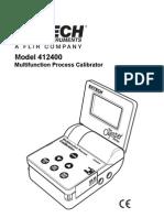 Test Equipmentshop.com Calibrators 412400 Multi Function Process Calibrator 2